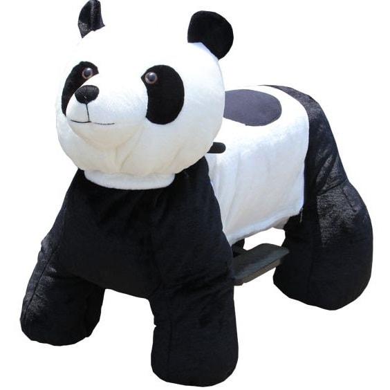 Зоомобиль Joy Automatic Panda с монетоприемником